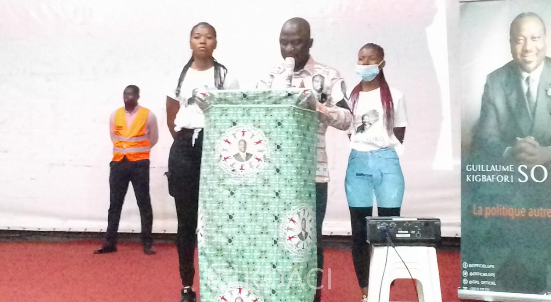 Côte d'Ivoire : Retour de Guillaume Soro, depuis Bouaké, Coulibaly Sié de la CMA-GKS/GPS rassure leurs militants