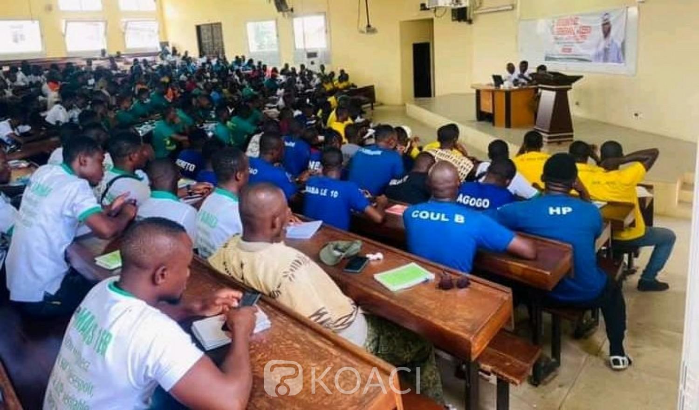 Côte d'Ivoire : Bouaké, à l'AG du CEECI, TK prône la paix et la non violence dans le milieu universitaire