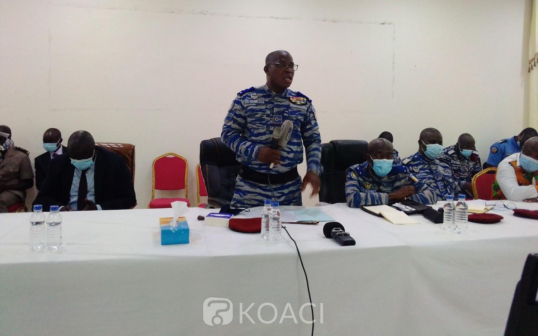 Côte d'Ivoire : Bouaké, finie la conduite sans casque, Apalo Touré donne un ultimatum aux usagers de moto