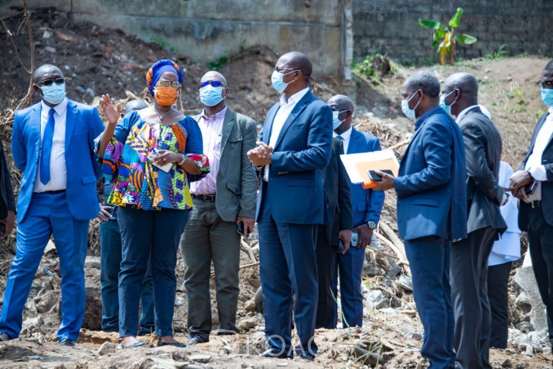 Côte d'Ivoire : «Versants du Vallon» à Cocody, arrêt de tous les travaux de construction et suspension de la délivrance de permis de construire et d'ACD
