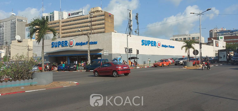 Côte d'Ivoire : Plateau, Super U flambant neuf et chasse aux vendeurs ambulants
