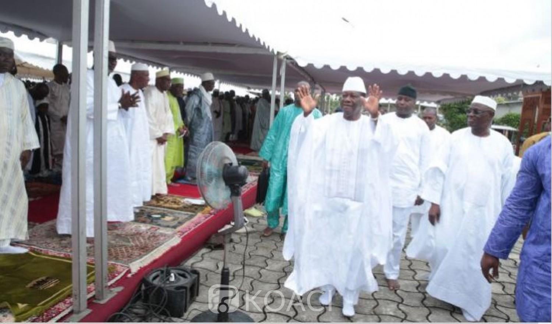 Côte d'Ivoire : Décès du président du COSIM, Ouattara depuis la France : « La communauté musulmane perd un artisan de paix et de dialogue »