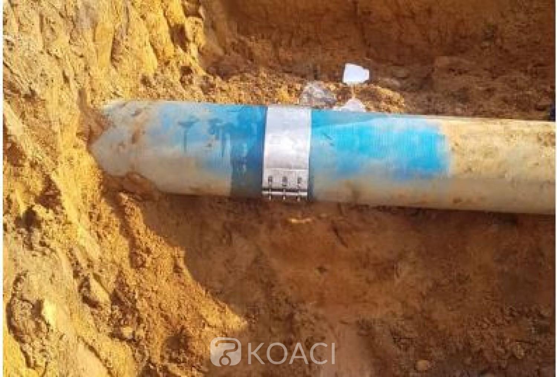 Côte d'Ivoire : Une entreprise de bitumage chinoise flingue une canalisation d'eau, Man dans la tourmente des perturbations
