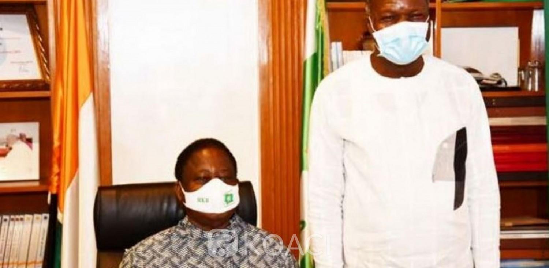 Côte d'Ivoire : Après une rencontre avec Bédié, Mabri annonce que l'opposition ira en rangs serrés au Parlement