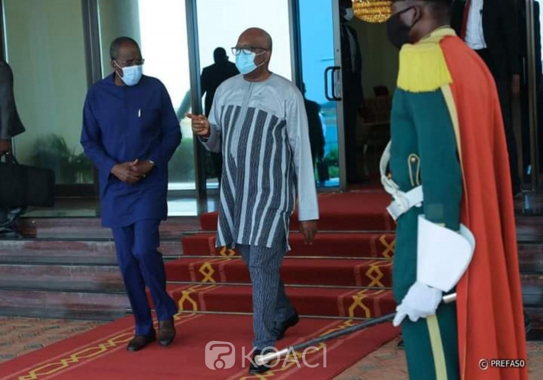 Burkina Faso : Le président Kaboré à Brazzaville pour l'investiture de Denis Sassou Nguesso