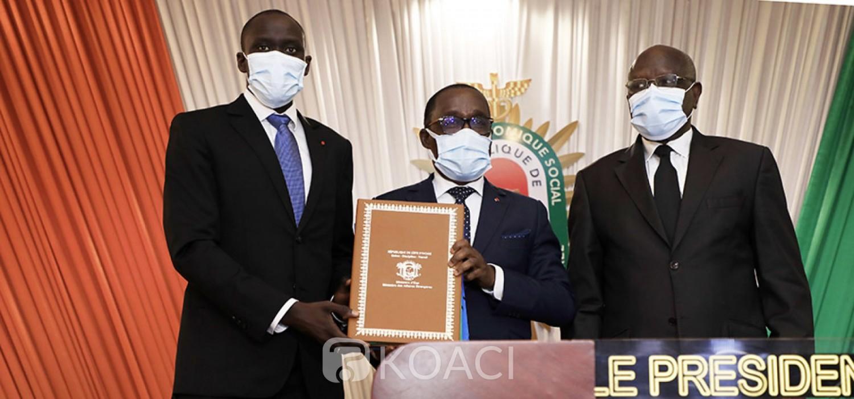Côte d'Ivoire : Conseil économique social, Aka Aouélé s'installe et promet poursuivre l'importante oeuvre entamée par ses devanciers