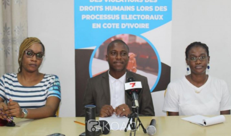 Côte d'Ivoire : Pour les victimes oubliées de l'élection présidentielle de 2020, l'OIDH va se constituer partie civile