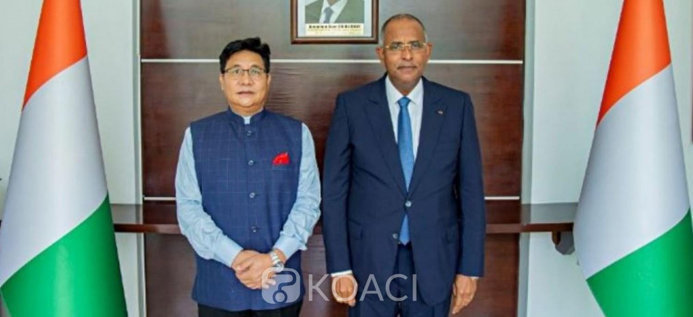 Côte d'Ivoire : L'Inde entend renforcer sa coopération économique, indique l'ambassadeur Sailas Thangal