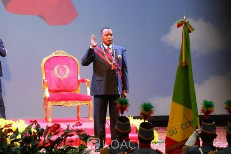 Congo : Denis Sassou Nguesso prête serment pour un quatrième mandat devant ses pairs africains