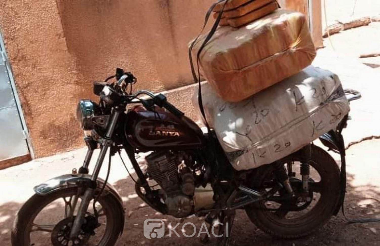 Burkina Faso : Lutte contre le trafic des stupéfiants, nouvelle saisie de 105 kg de drogue