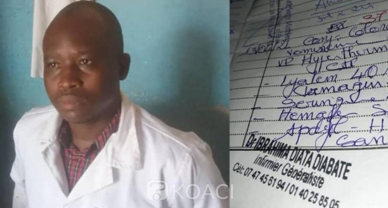Côte d'Ivoire : Abengourou, aide-soignant, il se faisait passé tantôt pour un médecin ou un infirmier pour soutirer de l'argent à ses patients