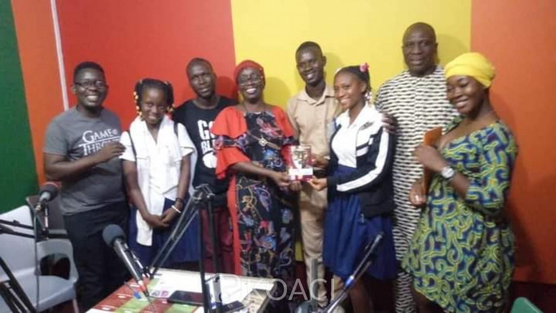 Côte d'Ivoire : Bouaké, réunissant des élèves et étudiants dans un Club Presse, un journaliste lance son label avec des œuvres littéraires