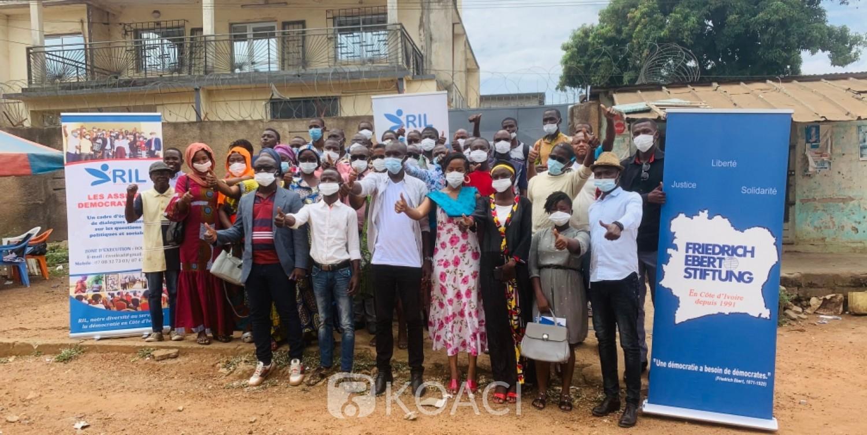 Côte d'Ivoire : Bouaké, en partenariat avec une fondation, le RIL aux côtés des jeunes pour des assises démocratiques