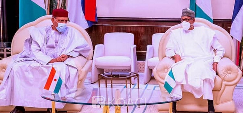 Nigeria-Niger : Mohamed Bazoum renforce avec Buhari l'axe Niamey-Abuja