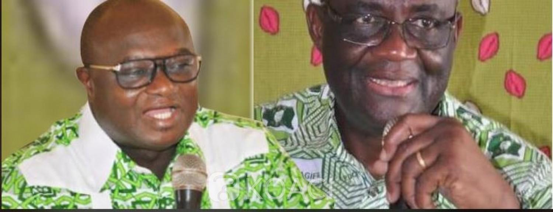 Côte d'Ivoire : PDCI-RDA, guéguerre entre Guikahué et le DIR CAB de Bédié, Bernard Ehouman