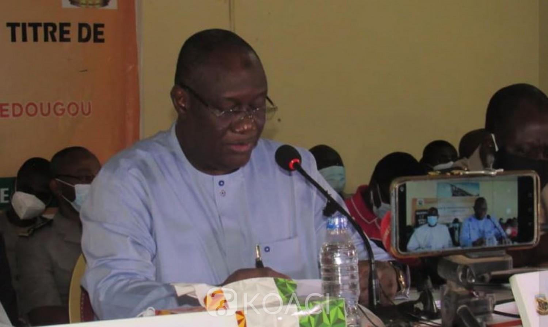 Côte d'Ivoire : Téné Birahima Ouattara président du conseil régional du Tchologo annonce la pose de la première pierre du port sec de Ferké