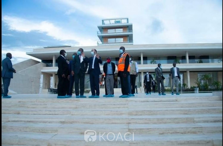 Côte d'Ivoire : L'esplanade du palais présidentiel au Plateau et celui des Hôtes à Cocody bientôt livrés