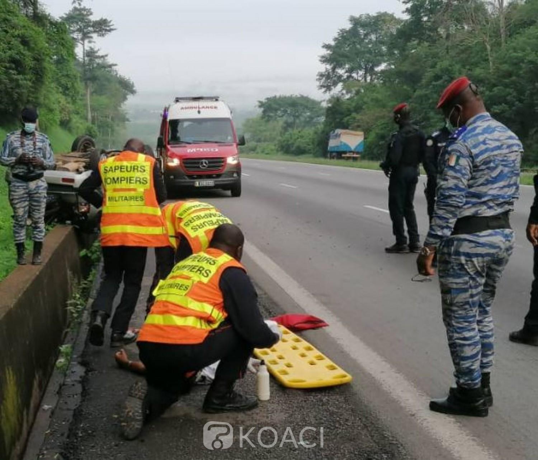 Côte d'Ivoire : Abobo-N'dotré, un grave accident signalé au carrefour (Bandji), 07 morts bilan provisoire