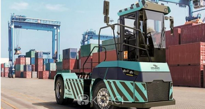 Côte d'Ivoire : Port d'Abidjan, 36 tracteurs électriques Gaussin commandés pour le 2e terminal à conteneurs