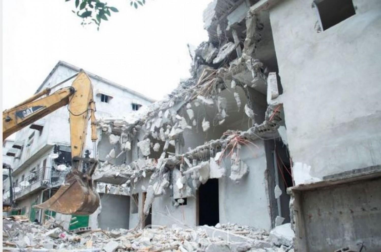 Côte d'Ivoire : Lutte contre les constructions anarchiques, les démolitions vont se poursuivre, assure le Ministère