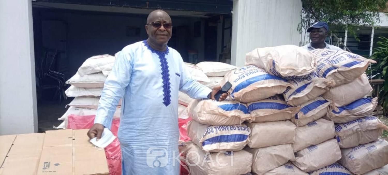 Côte d'Ivoire : Bouaké, soutien à la population, l'honorable Malick Fadiga soulage les fidèles musulmans avec des dons