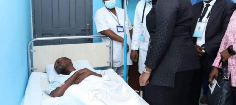 Côte d'Ivoire : Accident d'Abobo-N'Dotré, le Gouvernement dépêche Belmonde Dogo au chevet des blessés