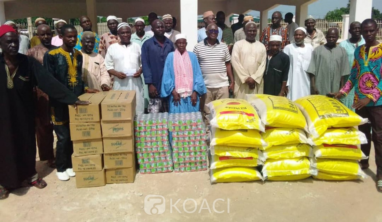 Côte d'Ivoire : Jeûne du ramadan, le DG du trésor soulage plusieurs mosquées de sa région à travers un important don