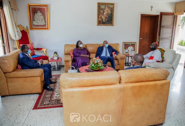 Côte d'Ivoire :  Nommé Premier ministre,  Patrick Achi «confie » sa mission aux guides religieux, musulmans et chrétiens