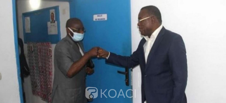Côte d'Ivoire : Désigné président du comité opérationnel d'organisation du retour de Gbagbo, Monnet échange avec Affi