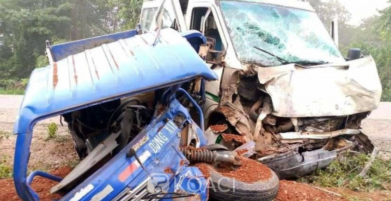 Côte d'Ivoire : Bangolo, un quadragénaire violemment tué dans un accident de circulation