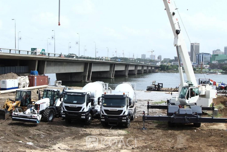 Côte d'Ivoire :    Pont Houphouët-Boigny, l'inauguration annoncée pour fin 2021, achèvement des travaux en juillet