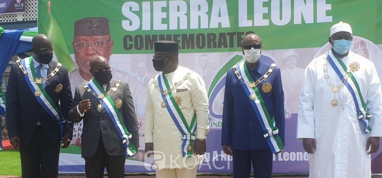 Sierra Leone :  60e anniversaire, appel de Maada Bio à la fraternité, l'APC absente des cérémonies