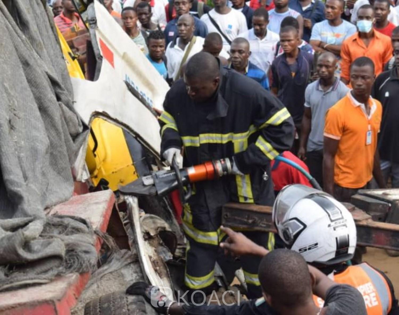 Côte d'Ivoire : Le bilan de l'accident de N'dotré passe à 11morts, 500.000 FCFA aux parents des personnes décédées, une victime se rendait à son premier contrat d'embauche