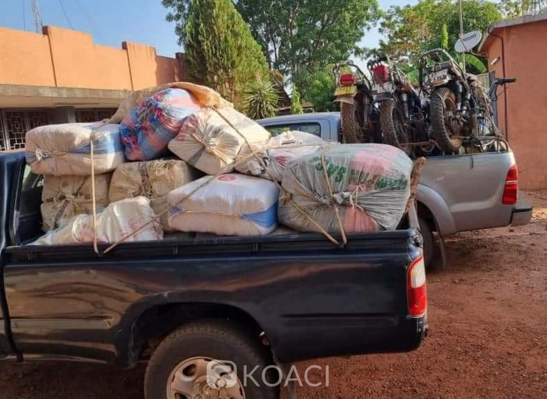 Burkina Faso : Nouvelle saisie de près d'une tonne de cannabis