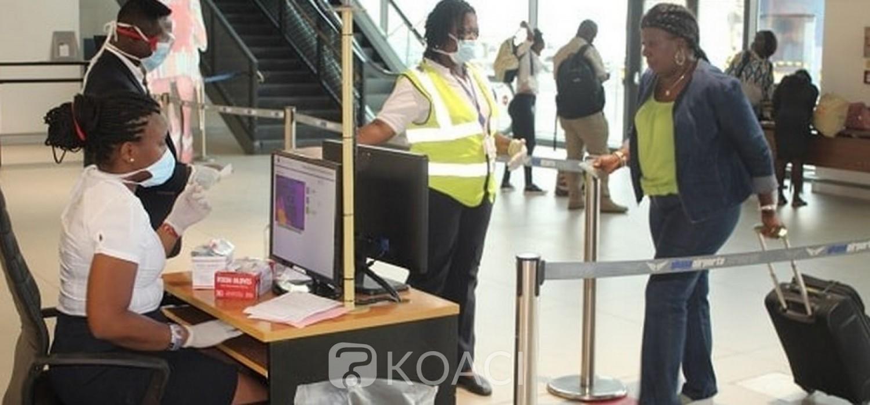 Ghana : Covid-19, consignes et directives aux voyageurs à l'aéroport d'Accra