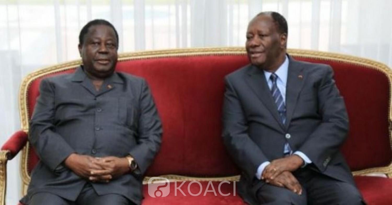 Côte d'Ivoire :  Ouattara annonce avoir appelé Bédié et travailler pour le rapprochement du PDCI et du RHDP