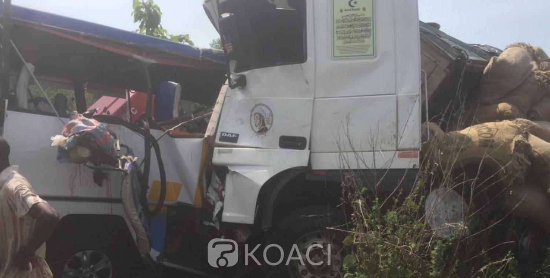 Côte d'Ivoire : 17 morts dans un accident de la circulation au Nord