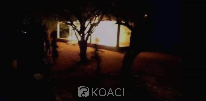 Côte d'Ivoire : Incendie du poste de Gendarmerie de Gboguhé, une dizaine de suspects interpellés, voici leurs identités