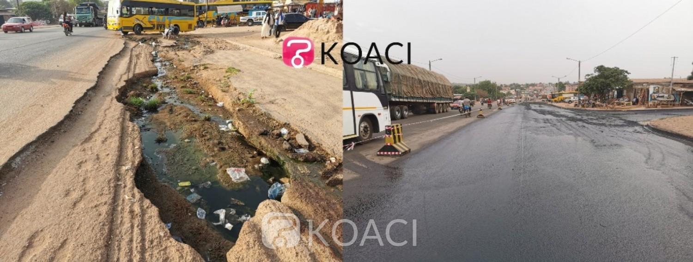 Côte d'Ivoire : Bouaké, pour éviter des accidents sur la Nationale A3, des points critiques réparés
