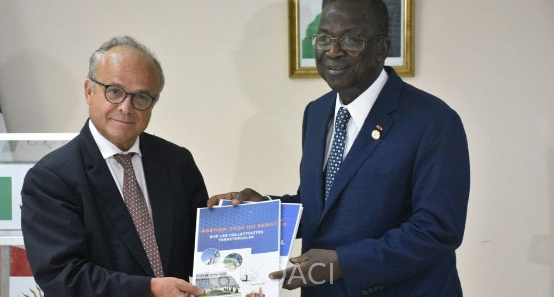 Côte d'Ivoire : La France apporte son soutien au Sénat ivoirien pour l'organisation d'un forum de la Diaspora