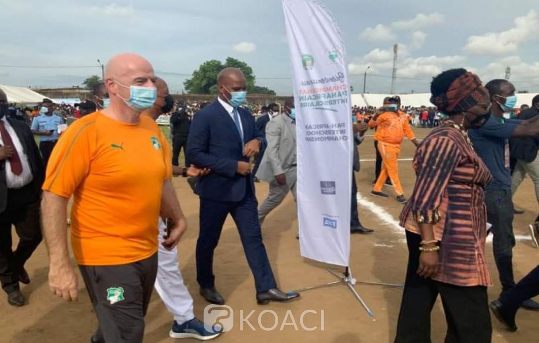 Côte d'Ivoire : Ce que Gianni et Motsepe ont dit à propos des candidatures  à la FIF, va-t-on vers un scénario  comme à la CAF ?