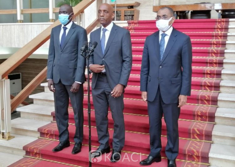 Côte d'Ivoire : Le représentant du FMI présente sa nomination au chef de l'Etat ivoirien, Zéphirin Diabré porteur d'un message de Kaboré à Ouattara