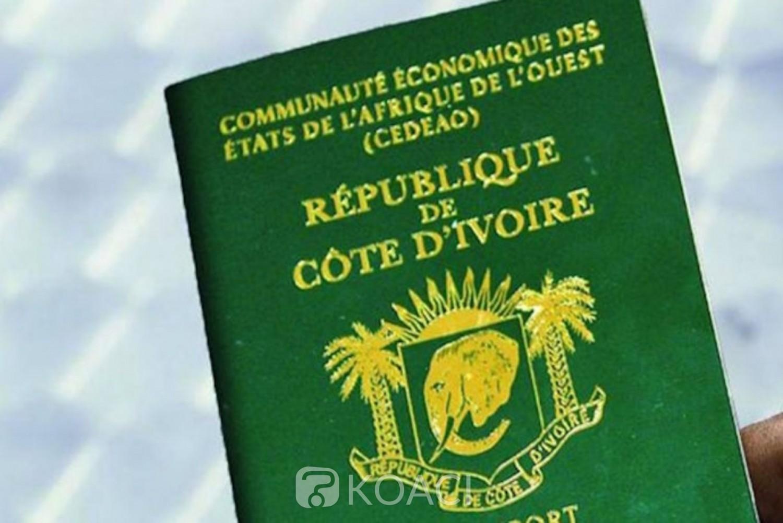 Côte d'Ivoire : A Washington, le Consulat suspend jusqu'à nouvel ordre l'enrôlement au passeport biométrique en raison de problèmes techniques