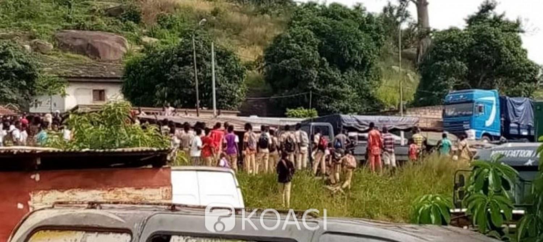Côte d'Ivoire : Pour leurs véhicules saccagés, les chauffeurs de taxis en grève à Man