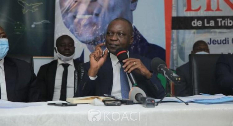 Côte d'Ivoire : Amadou Koné à propos du retour de Gbagbo : « C'est le temps pour qu'on se mette ensemble pour faire face à des défis »