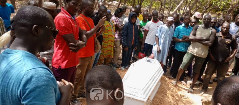 Côte d'Ivoire : Ferké, après  l'enterrement de Watchman, ses proches décidés à saisir le BURIDA pour que « justice soit rendue à sa famille biologique...»