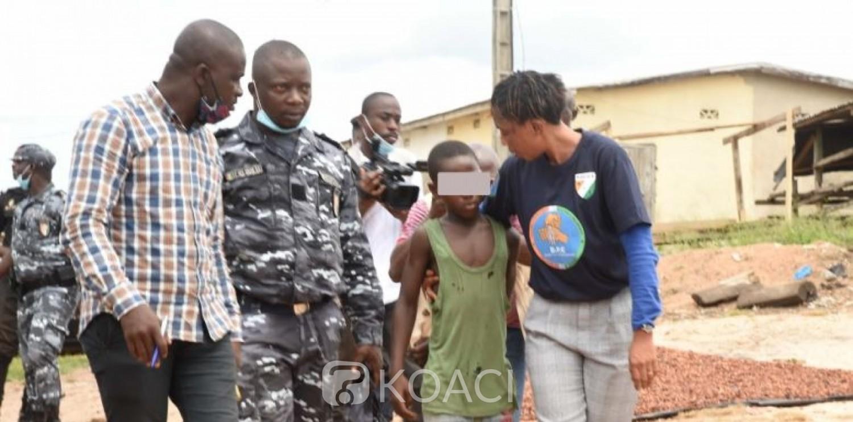 Côte d'Ivoire : Lutte contre le travail des enfants, opération « Nawa 2 », 63 enfants sauvés et 24 personnes interpellées