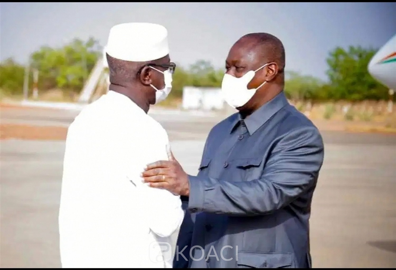 Burkina Faso : Le ministre ivoirien de la Défense Téné Birahima Ouattara à Ouagadougou