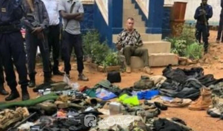 Centrafrique : Un français arrêté à Bangui en possession d'un important arsenal de guerre