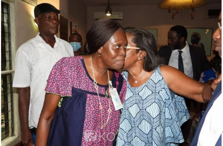 Côte d'Ivoire : Recevant Simone Gbagbo, Jeannette Koudou admet : « L'exil n'est pas facile »